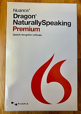 Software NUANCE Dragon Naturally Speaking Premium 13 with Headset and Microphone