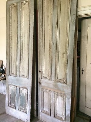 Vintage Early 1800s Double Entry Doors