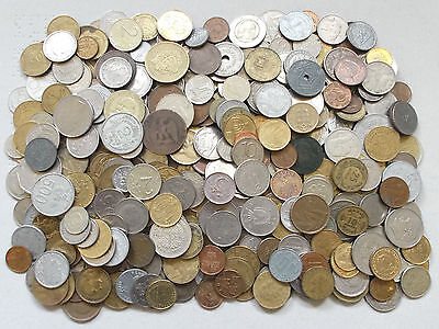 WORLD / FOREIGN - 1.8Kg of Mixed World Coins - 1800g Job Lot  - No British (L37)