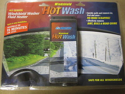 Windshield Washer Fluid Heater All Season Hot Water Washer Kit Winter Wiper