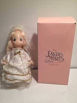 Precious Moments Angel Tree Topper Blonde