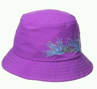 Outdoor Research Kids Solstice Bucket Hat UPF 50+ Sun Protection - Size M - New