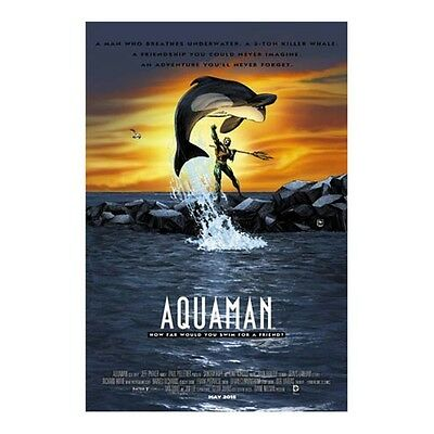 Aquaman #40 Free Willy Movie Poster Variant Comic Book