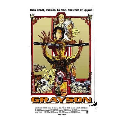 Grayson #8 Enter the Dragon Bruce Lee Movie Poster Variant Comic Book