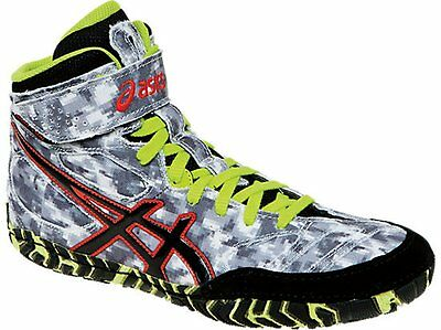 Nib Mens Asics Aggressor 2 L.e. Wrestling Shoes 11.5/ 45 Digital Camo- Authentic