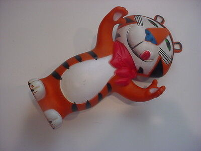"""nice 1972 TONY TIGER FROSTED FLAKES vinyl advertising figure 7.5"""""""