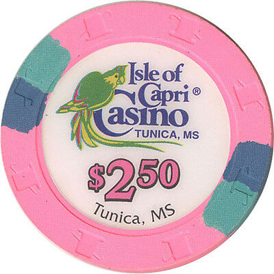 Isle of Capri - $2.50 Casino Chip