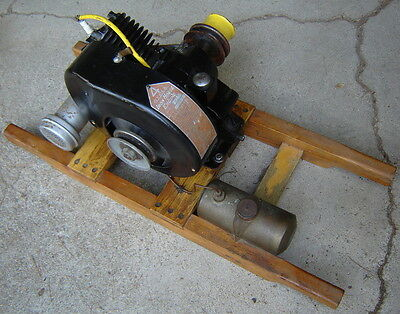 Antique Vintage Johnson 4 Cycle Iron Horse Hit & Miss Engine Motor