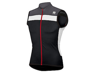 Smanicata Uomo Sportful  1101079 268  Pista Sleeveless Black/white/antracite