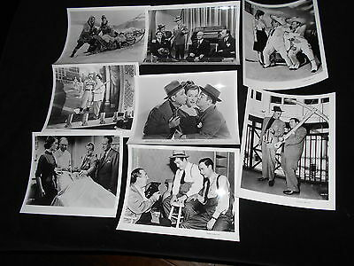 Bud Abbott Lou Costello 8  Photos Naughty Nineties Who Done It Invisible Man Etc