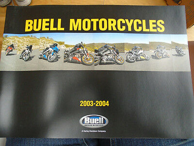 Buell Motorcycles brochure 2003/4 French text