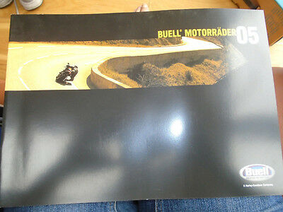 Buell Motorcycles brochure 2005 German text