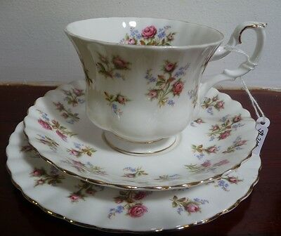 Royal Albert Vintage  'WINSOME' Tea Trio  Made in  England