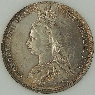 1888 Victoria Shilling NNC graded at MS-62  S3926 great coin