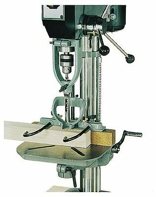 Wood Working Mortising Attachment Set W/4 Chisels For Drill Press Machine
