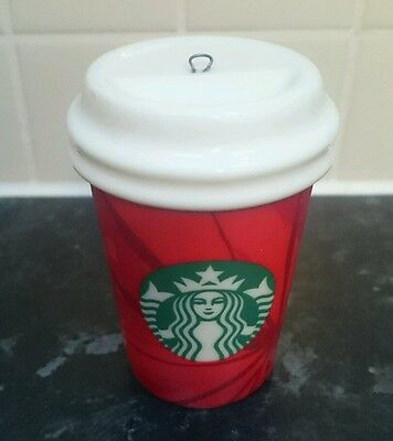 Starbucks Christmas Red Cup Tree Decoration 2014