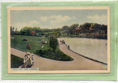 """""""""""postcard Naul's Mill Park,coventry,warwickshire."""""""""""