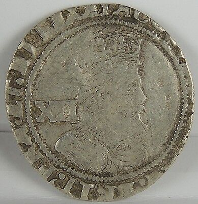 """1625 James I Shilling - part of the """"Middleham Hoard""""  -rare coin"""