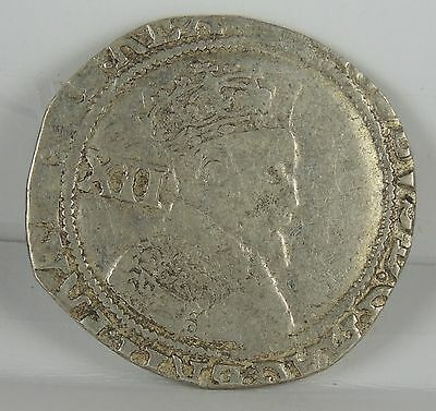 """1619 James I Shilling - part of the """"Middleham Hoard""""  -rare coin"""