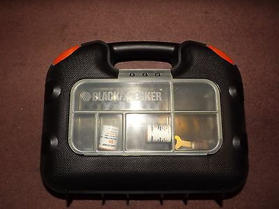 Black & Decker RT650 Dremel Rotary Multitool With Case Used Once