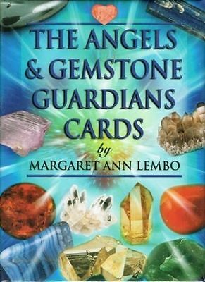 The Angels & Gemstone GUARDIAN CARDS by Margaret Ann Lembo NEW SEALED