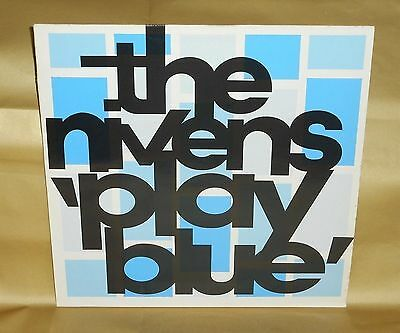 """THE NIVENS : Play Blue - Danceteria 1990 3-track 12"""" single, Indie Rock"""