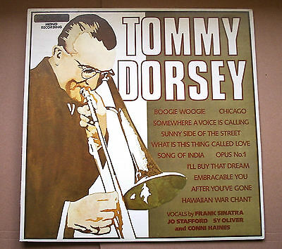 TOMMY DORSEY : The Incomparable Big Band Sound Of - 1975 UK LP inc Frank Sinatra