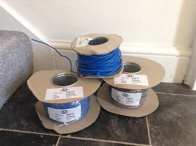 Electrical cable 2.5mm single core x 3