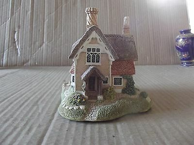 """lilliput lane """"john barleycorn cottage"""" with deeds and boxed very good cond."""