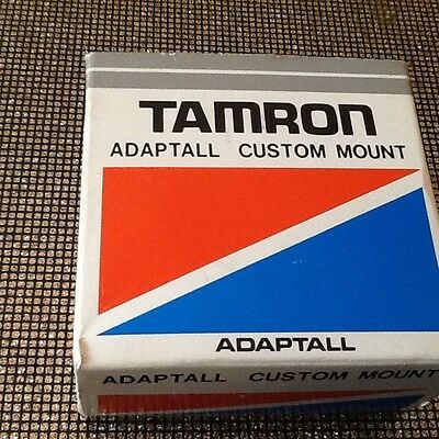 Tamron adaptall custom mount in box