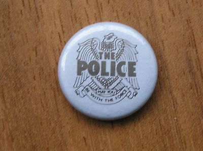 The Police Vintage Badge Button