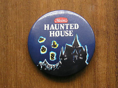 Uk Heinz Haunted House Badge Button