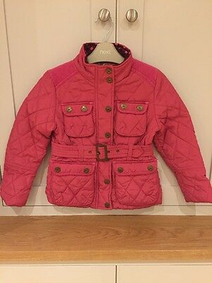 Quilted Next Girls Jacket Pink 5-6years