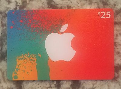 $25 Canadian iTunes Gift Card