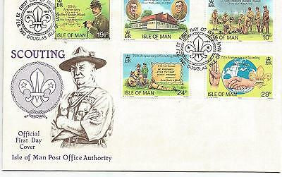 Isle Of Man Scouting First Day Cover