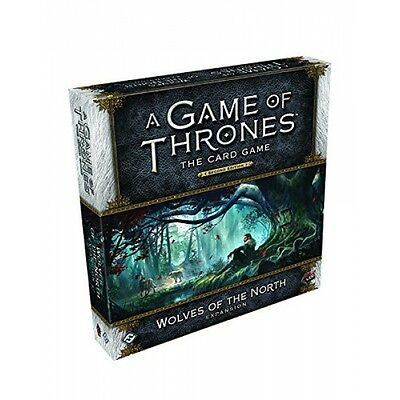 A Game of Thrones The Card Game (Second Edition) Wolves of the North Brand New