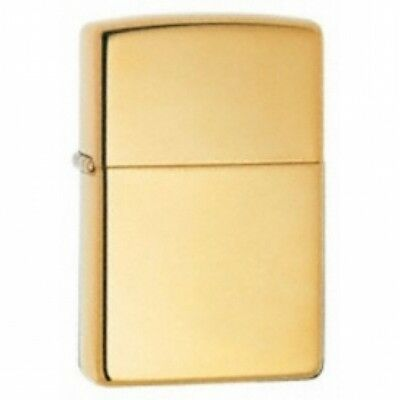 Zippo High Polished Brass Armor Windproof Lighter  Brand New