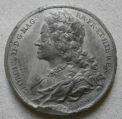 UK medallion - George II by Thomason using Dassier bust - WM 41mm
