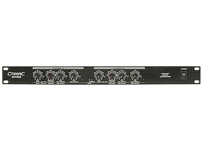 Citronic CX23 Active Crossover 2 Stereo 3 Way Mono Band Install PA System DJ