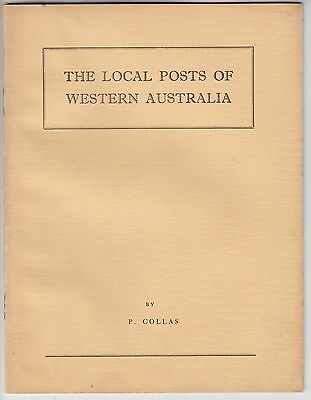 AUSTRALIA. The  Local Posts of Western Australia by Colas