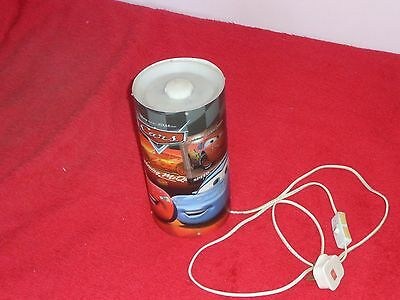 Disney/pixar  Cars  Bedside Light With Low Wattage   Vgc
