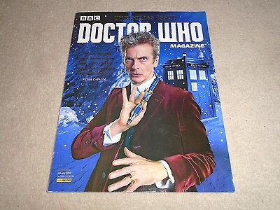 Doctor Who Magazine issue 494 XMAS - Ex condition