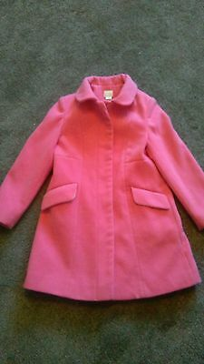 little girls monsoon coat age 7 to 8