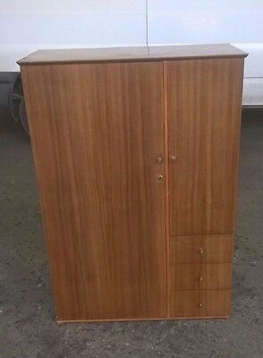 vintage tall boy wardrobe chest of drawers possible project / furniture 2 clear