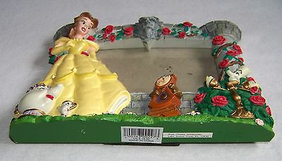 """Beauty and the Beast picture frame  3-1/2"""" x 5"""" Walt Disney Attractions"""