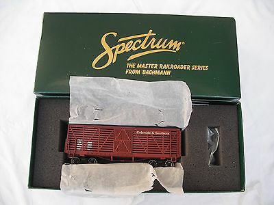 Spectrum 27523 Stock Cattle Freight Train Car, Colorado Southern C&S, On30 Scale