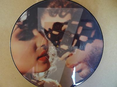 """Prince  7  Limited  12"""" Picture Disc Unplayed Mint Condition RARE Free Delivery"""