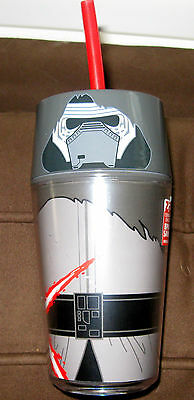Kylo Ren The Force Awakens BPA Free Refillable Mug with included straw-NWT!