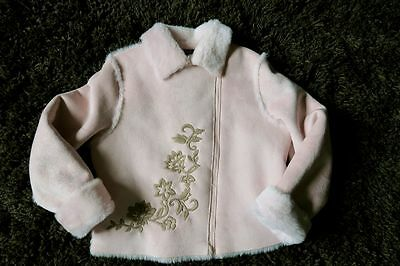 Veste rose Lili Gaufrette, 6-8 ans, TBE  6-8 years