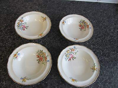 4 x grindley creampetal sm dishes